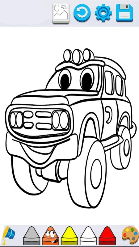 Cars Coloring Book For Mcqueen APK Download