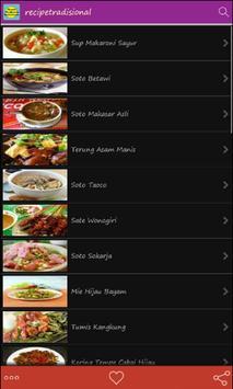 Resep Tradisional Indonesia apk screenshot