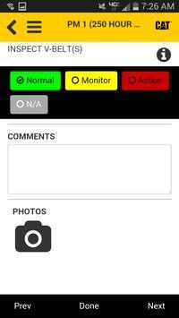 Cat® Inspect apk screenshot