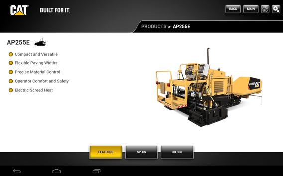 Caterpillar Paving CORE apk screenshot