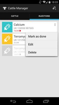 Cattle Manager apk screenshot