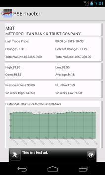 PSE Tracker apk screenshot