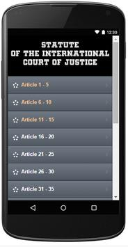 INTERNATIONAL COURT OF JUSTICE poster