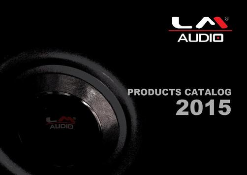 Catalog LM Audio poster
