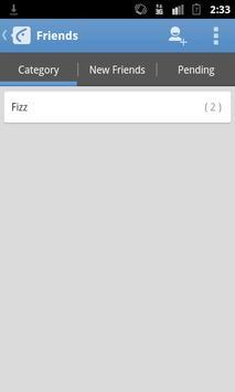 Catfiz Blue Theme apk screenshot