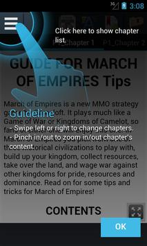 Tips for March of Empires apk screenshot