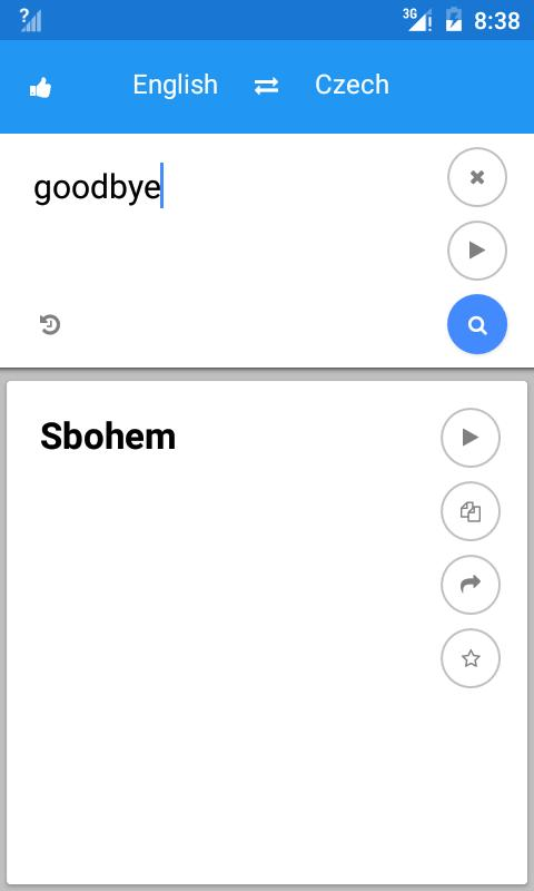 how to translate an app to english android