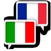 Italian French Translate icon