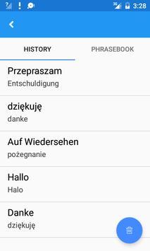 Polish German Translate apk screenshot
