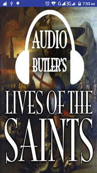 Audio Butler's Lives of Saints poster