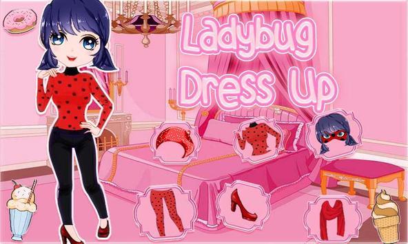 Dress Up catalog for ladybug poster