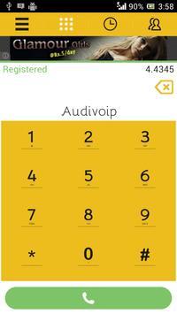 Audivoip apk screenshot