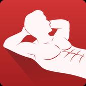Abs workout icon