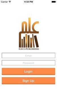 ILM Islamic E-Publishing poster