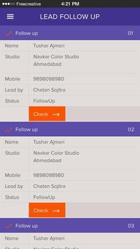 CRM - PhotoOrange apk screenshot