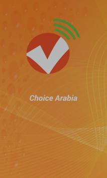 ChoiceArabia poster
