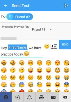 Simple Group Texts apk screenshot