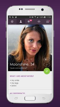 C-Date – Dating with live chat poster