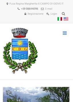 CDG - Comune Campo di Giove poster