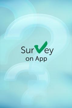 Survey On App poster