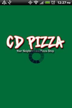 CD Pizza poster