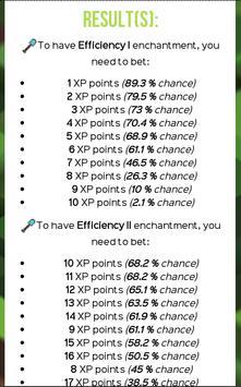 How to Enchant in Minecraft apk screenshot