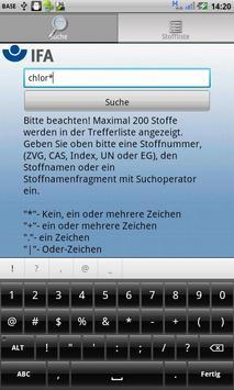 GESTIS Substance database apk screenshot