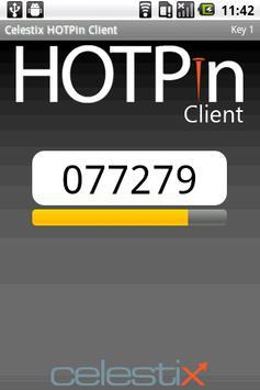 HOTPin Android Client apk screenshot
