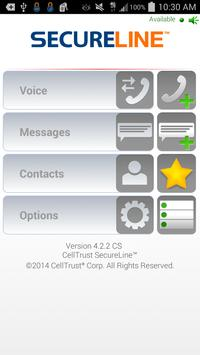 CellTrust SecureLine™ poster