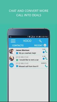 Voco - 2nd Phone Number apk screenshot
