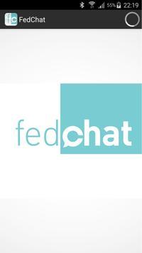 FedChat poster