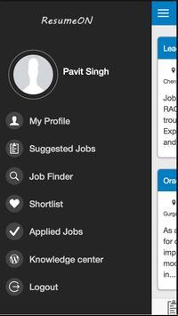 ResumeON - Job Search in India apk screenshot