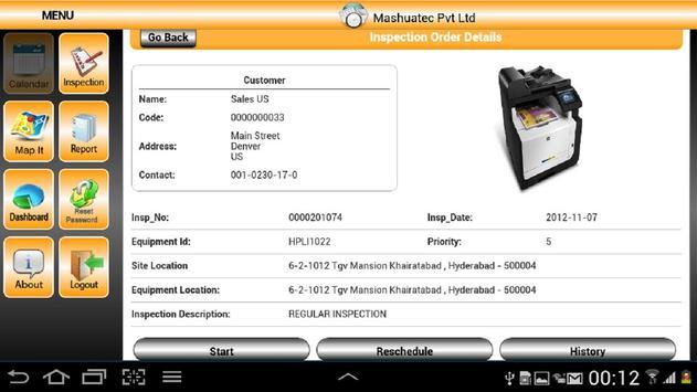 In-Field Inspection-SUP-SAP apk screenshot