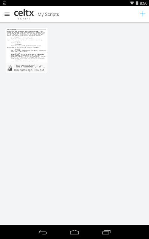 Download Celtx Script APK   downloadAPK.net