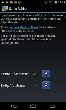 Şahin Rehberi apk screenshot