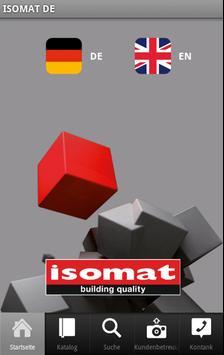 ISOMAT DE poster