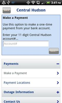 Central Hudson Mobile apk screenshot