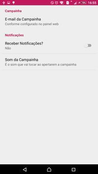 Campainha Web apk screenshot