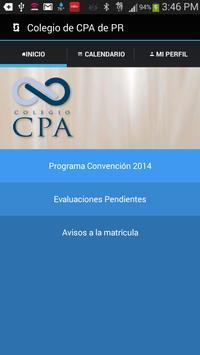 Colegio de CPA de Puerto Rico poster