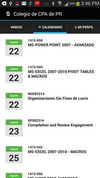Colegio de CPA de Puerto Rico apk screenshot