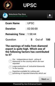 UPSC / IAS / CSAT Exam apk screenshot