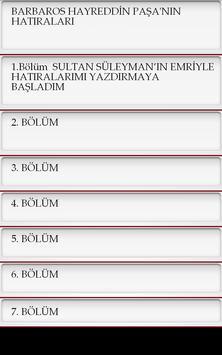 Barbaros Hayreddin Paşa apk screenshot