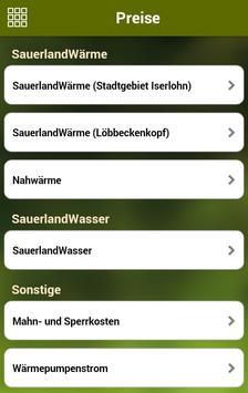 Stadtwerke Iserlohn apk screenshot