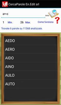 CercaParole apk screenshot