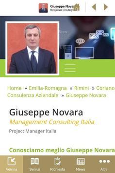 G.Novara Project Manager poster