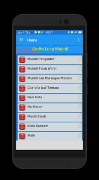 Cerita Lucu Mukidi apk screenshot