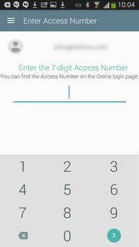 MIRACL M-Pin apk screenshot