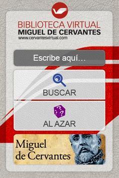 Biblioteca Virtual Cervantes poster