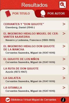 Biblioteca Virtual Cervantes apk screenshot