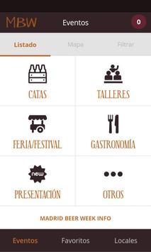 Madrid Beer Week poster
